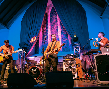 Live Eevents at the SeaChurch Music Venue, Ballycotton