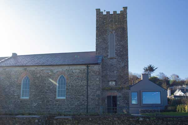 Exterior of The Sea Church and Restaurant, ballycotton